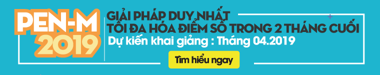 Luyện thi THPT quốc gia PEN-M Khoa học xã hội