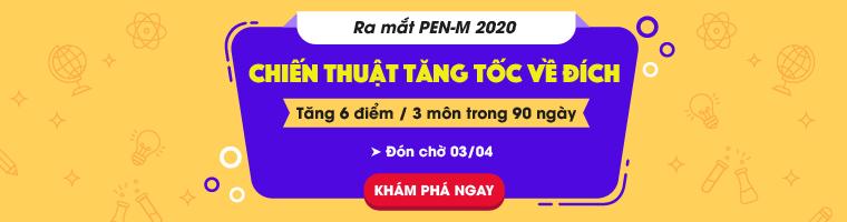 Luyện thi THPT quốc gia PEN-M môn Sinh học