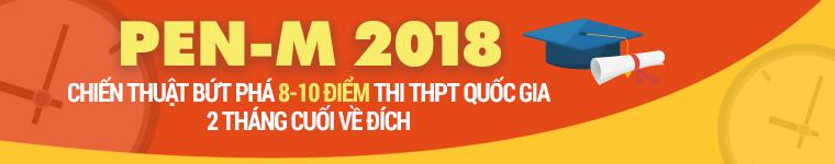 Luyện thi THPT quốc gia PEN-M Toán