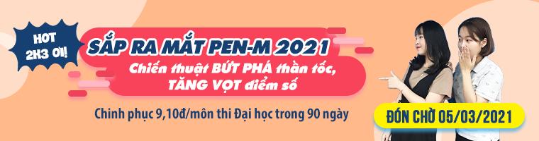 Luyện thi tốt nghiệp THPT môn Vật lí (PEN-C)