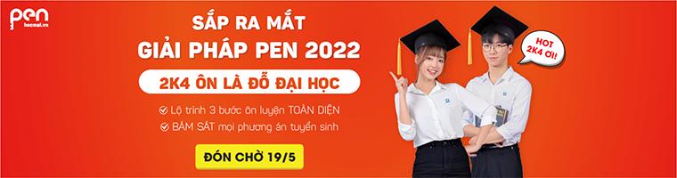Luyện thi tốt nghiệp THPT PEN-M môn Tiếng Anh