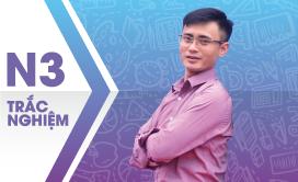 PEN-C Toán trắc nghiệm (Thầy Nguyễn Bá Tuấn)