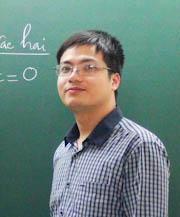 Thầy: Nguyễn Mạnh Cường, giáo viên dạy Toán
