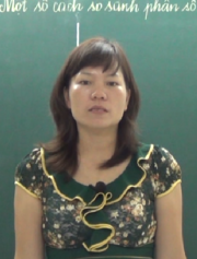 Cô: Đinh Thị Hải, giáo viên dạy Toán