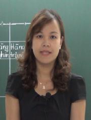 Cô: Phùng Thu Hòa, giáo viên dạy Toán