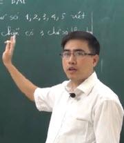 Thầy: Bùi Minh Mẫn, giáo viên dạy Toán