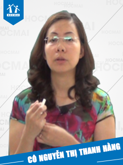 Cô: Nguyễn Thị Thanh Hằng