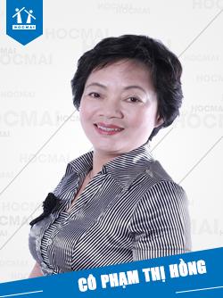 Cô: Phạm Thị Hồng
