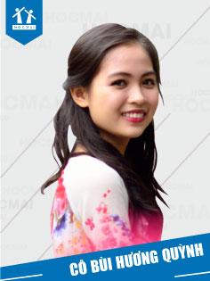 Cô: Bùi Hương Quỳnh