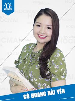 Cô: Hoàng Hải Yến (Ms. Vivi)