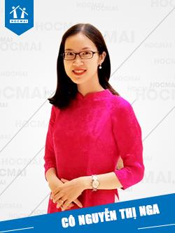 Cô: Nguyễn Thị Nga