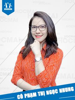 Cô: Phạm Thị Ngọc Nhung