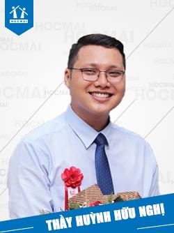 Thầy: Huỳnh Hữu Nghị