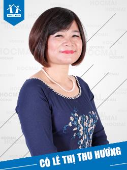 Cô: Lê Thị Thu Hương