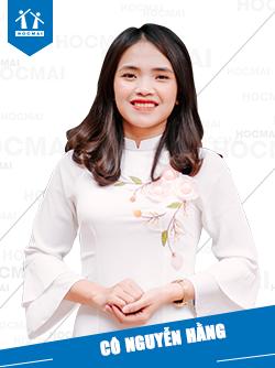 Cô: Nguyễn Hằng