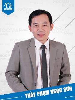 Thầy: Phạm Ngọc Sơn