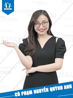 Cô: Phạm Nguyễn Quỳnh Anh