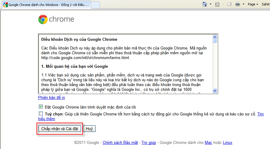 tat download cua google chrome