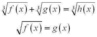 Bài giảng Phương trình, bất phương trình vô tỉ