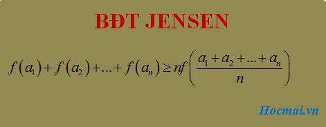 Chuyên đề Bất đẳng thức - thầy Trần Phương : Bài 21. Bất đẳng thức Jensen