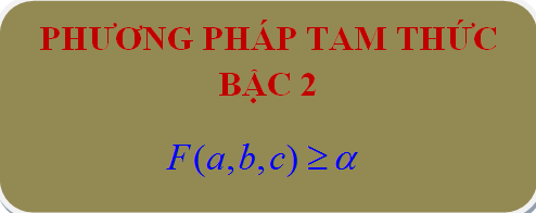 Chuyên đề Bất đẳng thức - thầy Trần Phương : Bài 18. Phương pháp tam thức bậc hai
