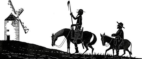 Bổ trợ và Nâng cao kiến thức Ngữ văn 8 : Đánh nhau với cối xay gió (Phần một)
