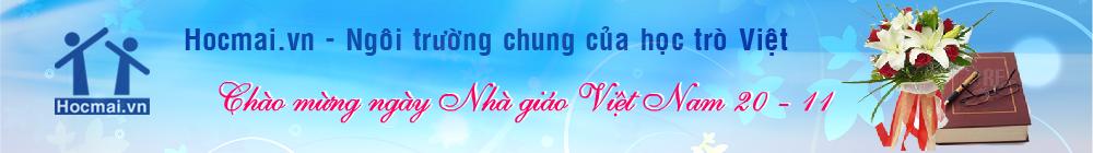 Hocmai.vn - Ngôi trường chung của học trò Việt